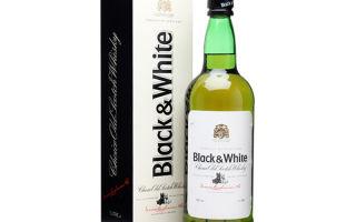 Black and White (Блэк энд Вайт): производитель и особенности технологии изготовления напитка, правила употребления виски