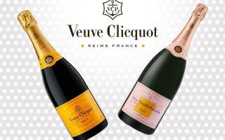 Вдова Клико (Veuve Clicquot): история создания, ассортимент и особенности знаменитого французского шампанского