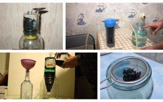 Угольная колонна для очистки самогона — принцип работы и как сделать фильтр своими руками, зачем нужна фильтрация дистиллята