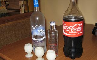 Водка с колой: пропорции и рецепты напитка, как правильно подавать и пить коктейль