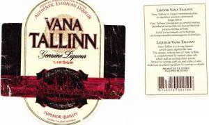 Vana Tallinn (Вана Таллин): историческая справка, виды ликера и рецепты приготовления коктейлей