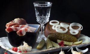 Правильная закуска к водке — быстрые рецепты в домашних условиях