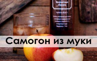 Самогон из муки: подробный рецепт приготовления мучной браги в домашних условиях и польза напитка