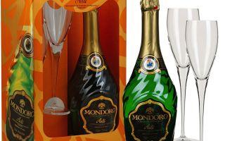 Шампанское Мондоро Асти(Asti Mondoro): история бренда, особенности вкуса и разновидности игристого вина