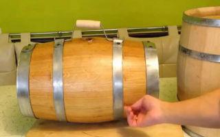 Подготовка дубовой бочки для самогона: как выбрать подходящую тару и правильно ее обработать, срок выдержки напитка