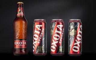 Пиво Охота: крепость и состав, рецепты приготовления коктейлей с хмельным напитком