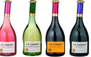 Французское вино J.P. Chenet (Жан-Поль Шене) — какие бывают виды этого напитка, как купить оригинал и как правильно подавать