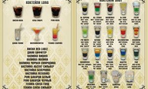 Алкогольные коктейли — вкусные, простые и оригинальные идеи создания смешанных напитков