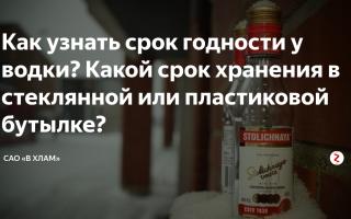 Срок годности водки: правила хранения напитка в домашних условиях и как определить просрочку