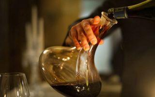 Декантер для вина: основные правила декантации алкоголя, как выбрать и ухаживать за аксессуаром