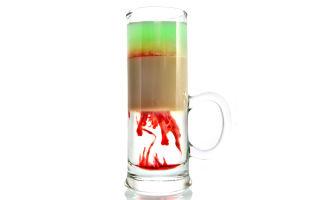 Хиросима коктейль: разновидности напитка, состав и рецепт шота, как правильно пить