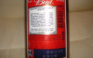 Пиво Bud (Бад): особенности производства напитка и основные характеристики марки