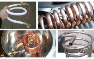 Змеевик для самогонного аппарата: какой материал выбрать и пошаговая технология изготовления в домашних условиях