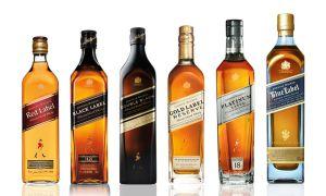 Виски «Блю Лейбл» и «Ред Лейбл» Джонии Уокера — описание и особенности
