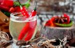 Перцовка на самогоне: какие ингредиенты требуются для напитка и как приготовить алкоголь с перцем в домашних условиях