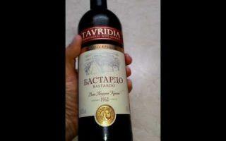 Описание вин Бастардо — массандра, красное полусухое, полусладкое и другие виды Крымского напитка