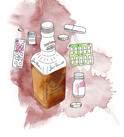 Последствия приема феназепама с алкоголем